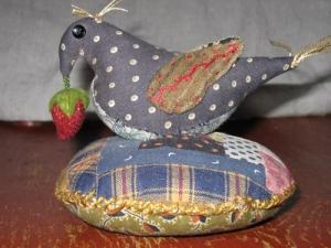 Bird Pin Cushion